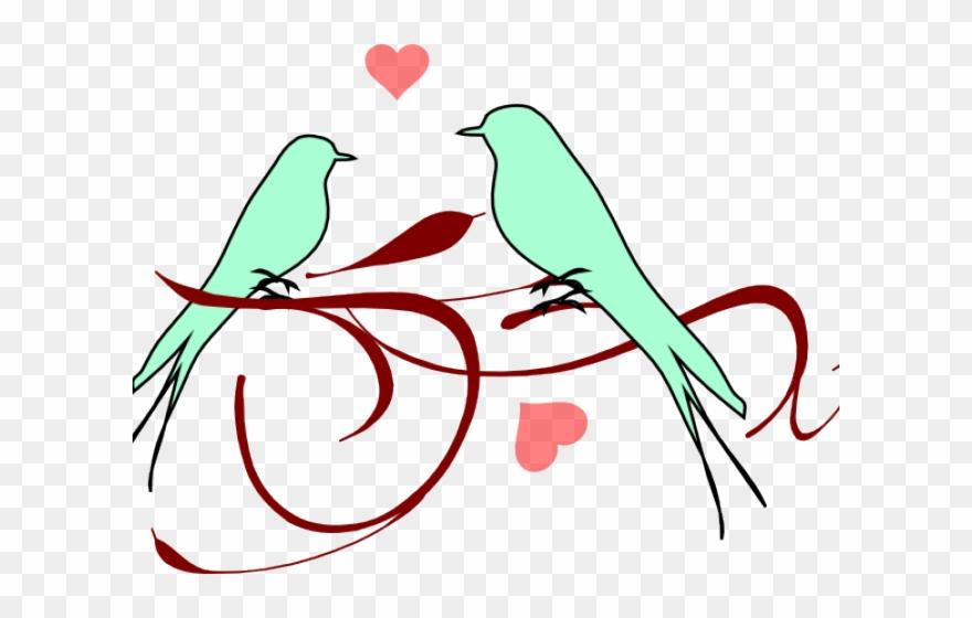 Love Birds Clipart Small Bird.