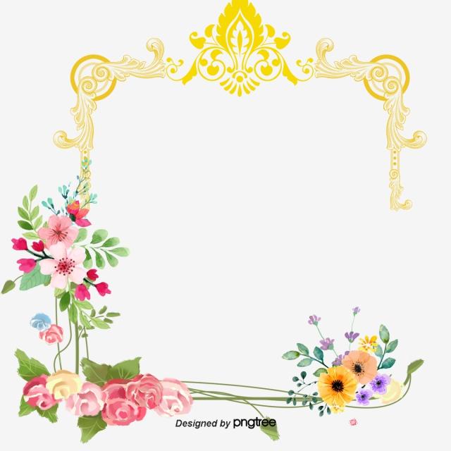 Wedding Floral Design, Wedding Vector, Floral Vector.