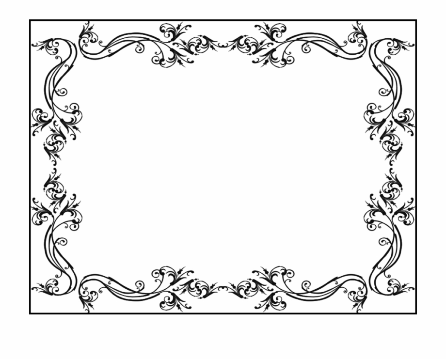 Wedding Borders And Frames , Png Download.