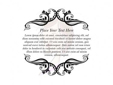 wedding borders design clipart #5