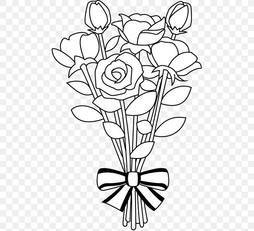 Flower Bouquet Drawing Clip Art, PNG, 486x747px, Flower.