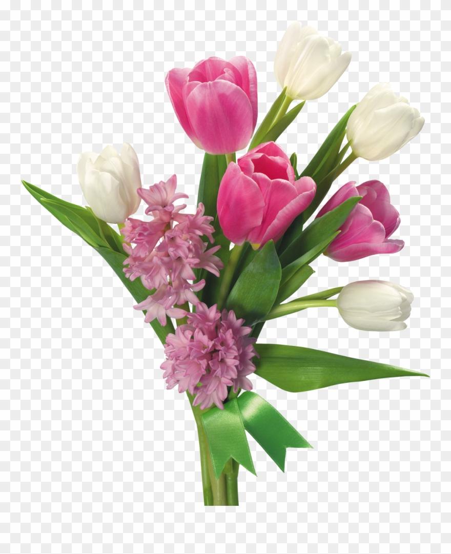 Flower Bouquet Transparent Background Clipart (#307552.