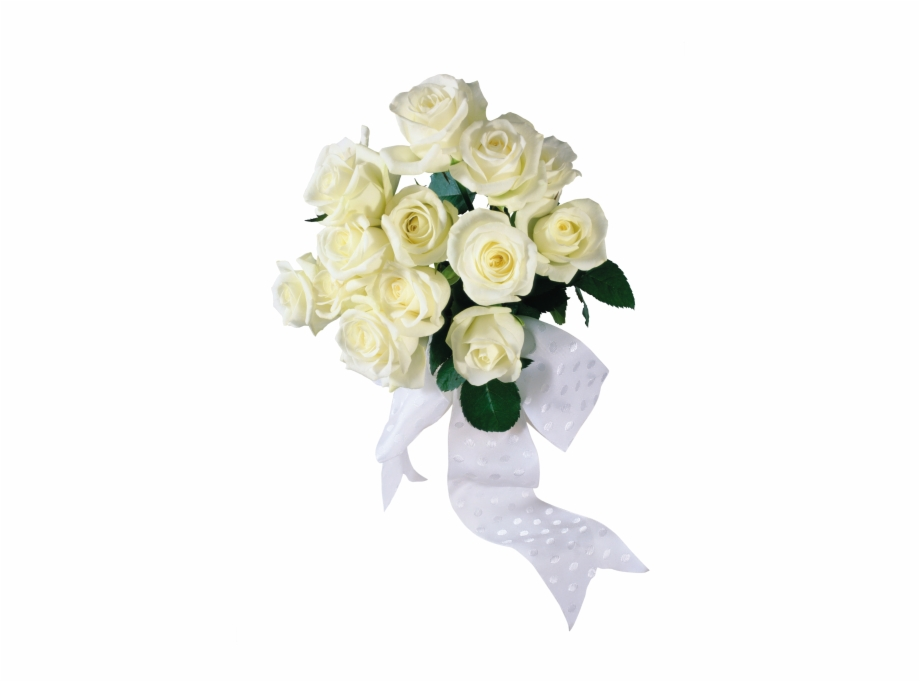 White Rose Bouquet.
