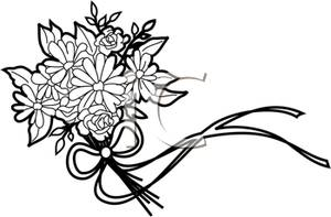 Wedding Flowers Clip Art.