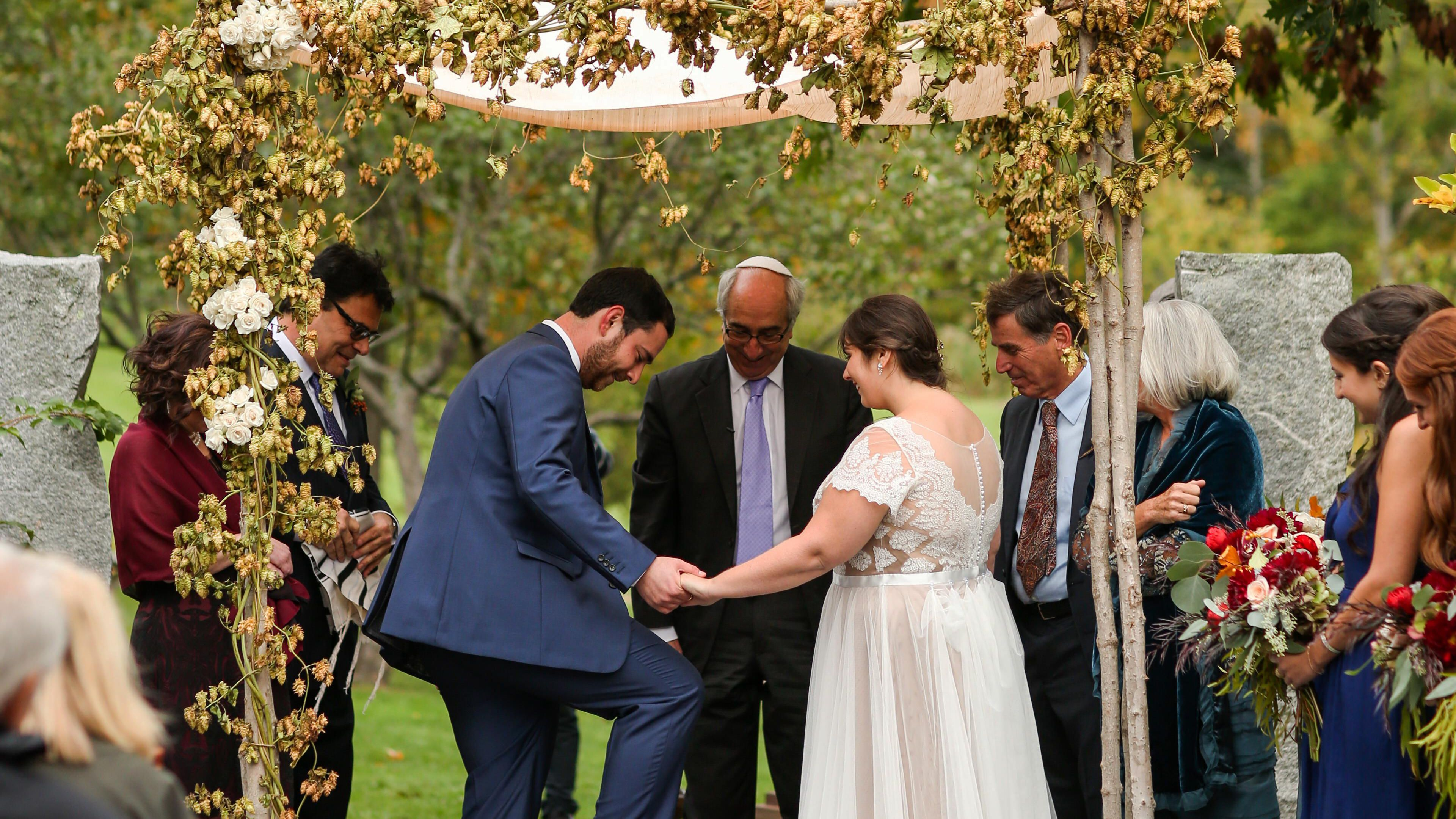This Custom Is a Staple of Traditional Jewish Wedding Ceremonies.