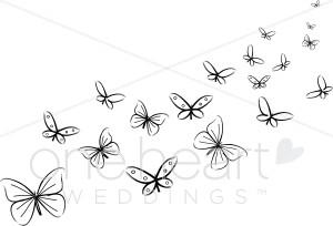 Butterflies Clipart.