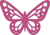 Wedding Butterfly Clipart, Butterfly Clipart, Butterfly Graphics.