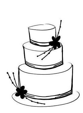 Clip Art Of Cake.