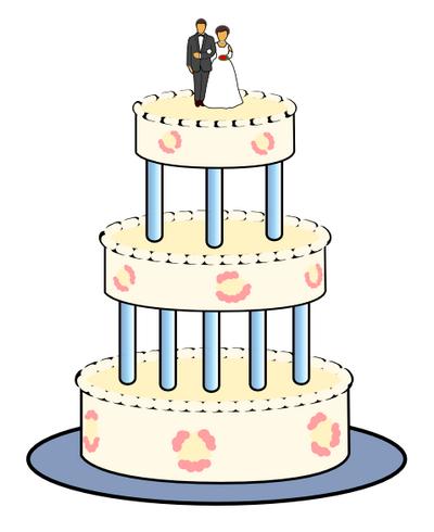 Wedding Cake Clip Art Download.