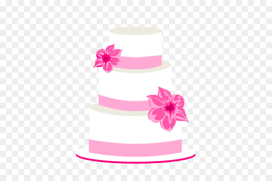 Pink Birthday Cake png download.