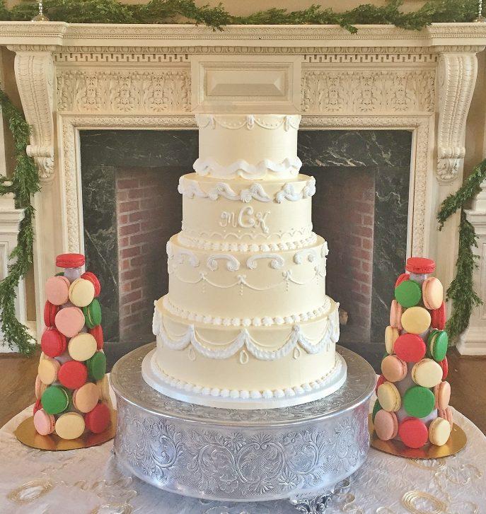 Wedding Cake For Reception History