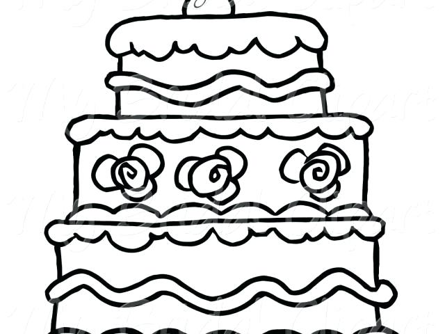 Collection of Wedding cake clipart.