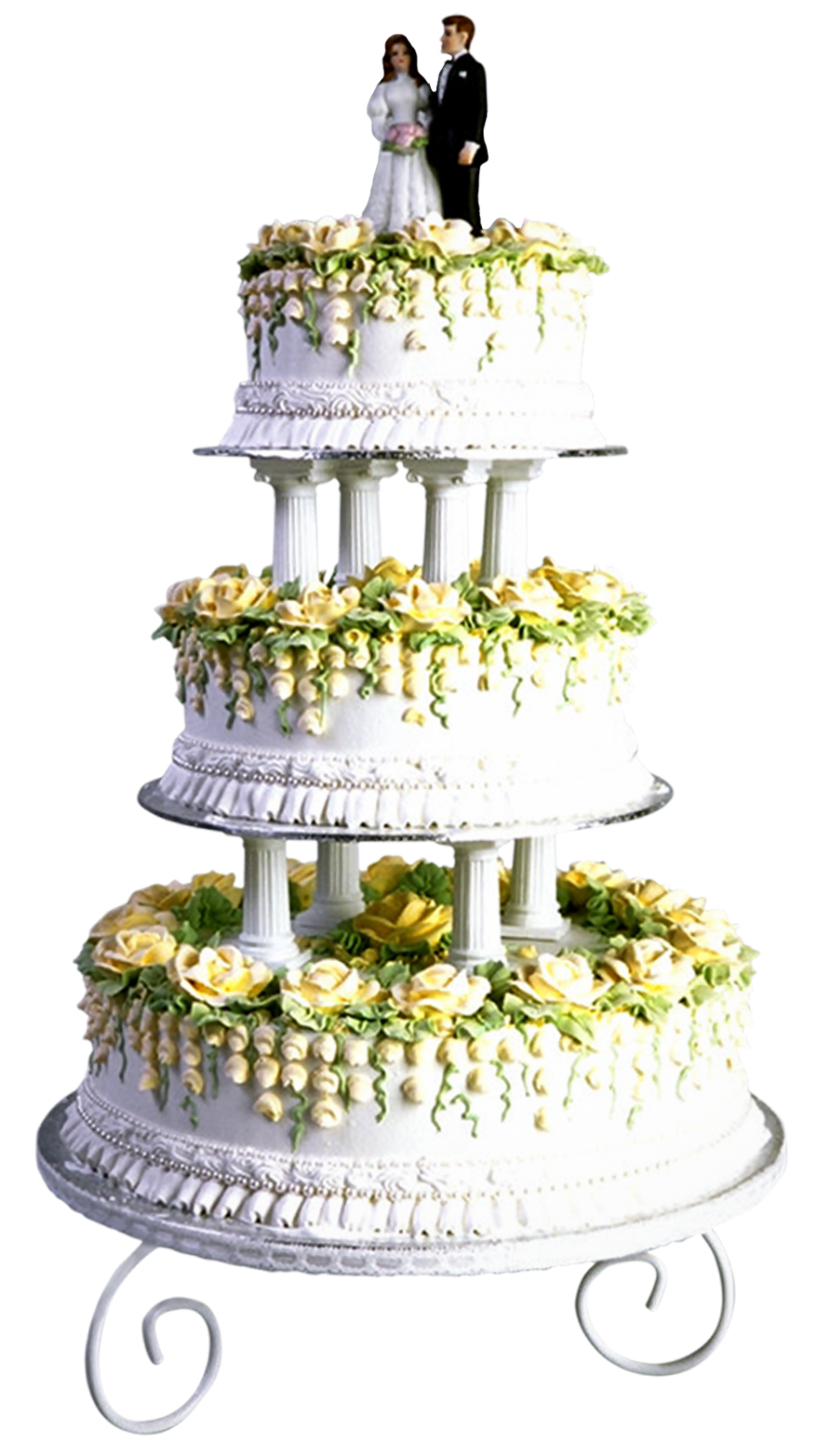 Wedding Cake PNG Clip Art.