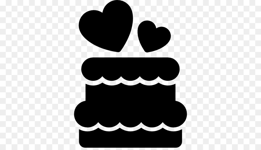 Birthday Cake Silhouette png download.