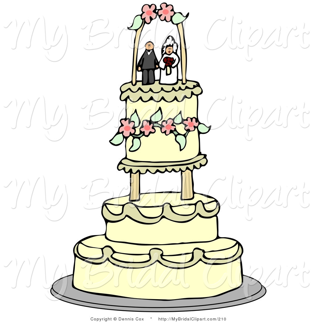 Wedding Cake Toppers Clipart Clipground