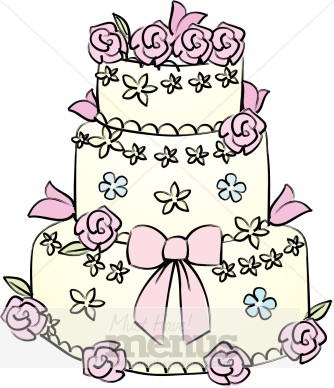 Wedding cakes clipart 6 » Clipart Station.