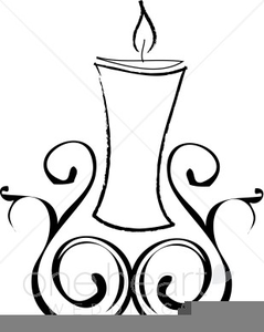 Unity Candle Clipart.