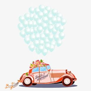 Wedding Car PNG Images, Wedding Car Clipart Free Download.