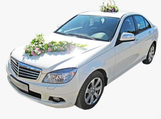 White Wedding Car PNG, Clipart, Car, Car Clipart, Car.