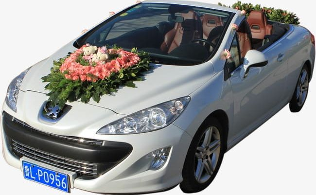 Silver Wedding Car PNG, Clipart, Car Clipart, Lover, Silver.