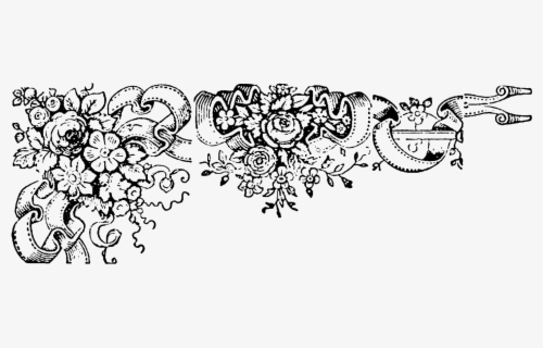 Free Wedding Border Clip Art with No Background.