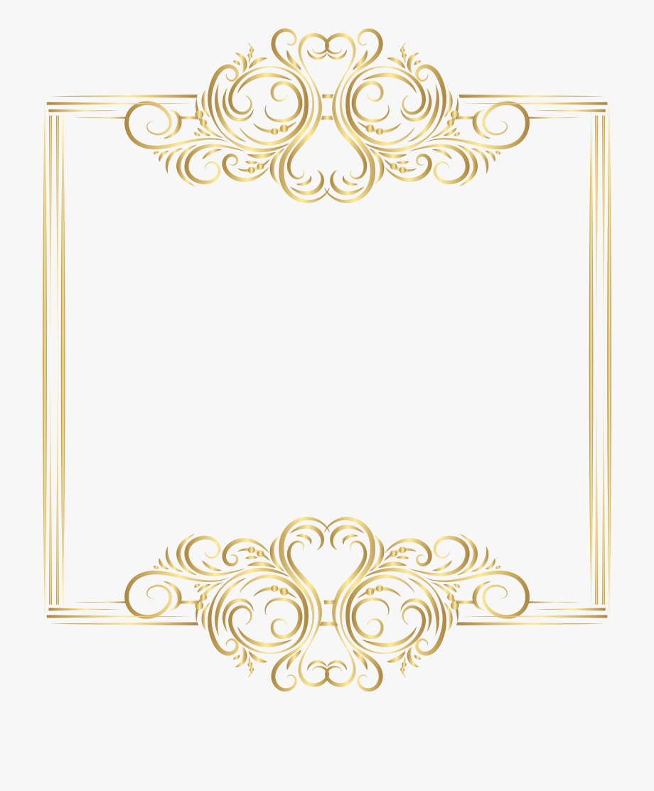 Wedding Card Border Png Picture #14491.