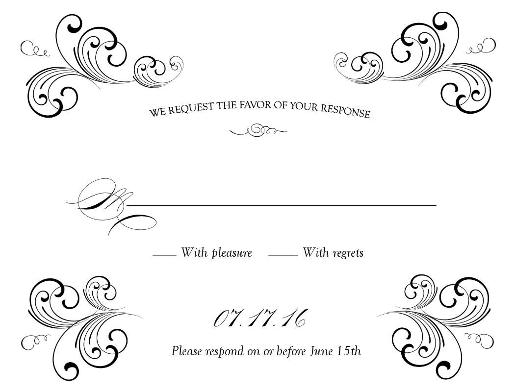 Free Weddings Swirls Clip Art.