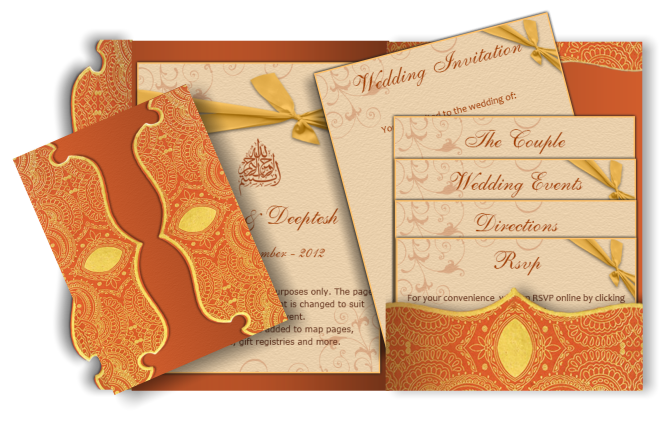 Invitation Card Png Vector, Clipart, PSD.
