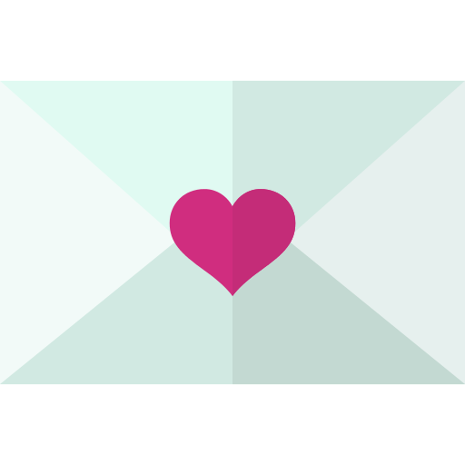 Wedding Invitation Card PNG Icon.