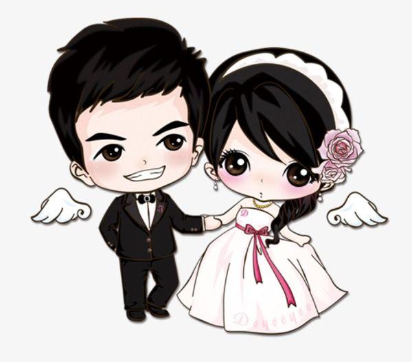 Cartoon Married Couple, Cartoon Clipart, Cartoon, Lovers PNG.