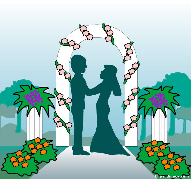 Wedding ceremony clipart 9 » Clipart Station.