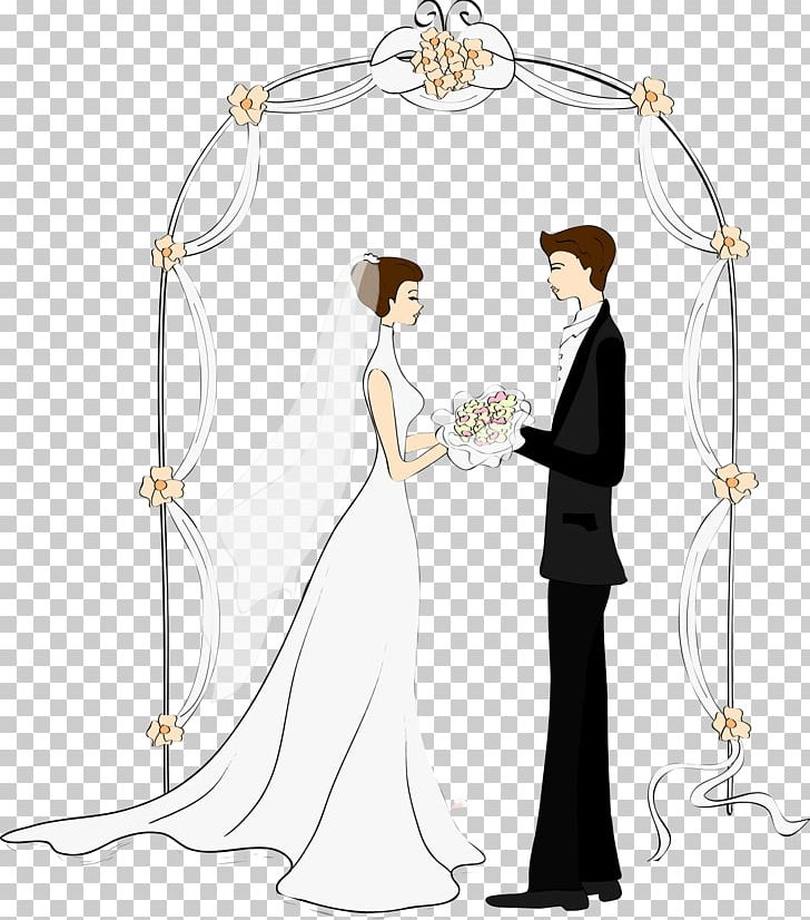 Wedding Invitation Marriage Drawing Bride PNG, Clipart, Arch.