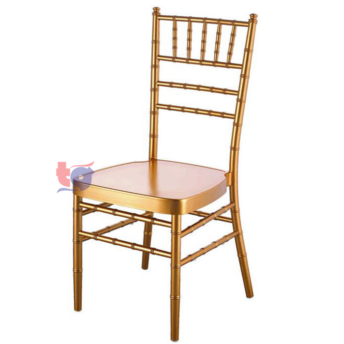 Steel Chiavari Chair / Kerusi Chiavari Besi with Seatpad (10 unit).