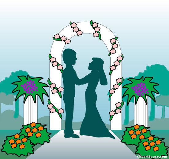 Free wedding chapel clipart.