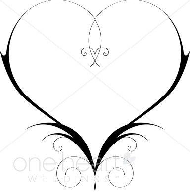 Wedding Clip Art Black And White Border.
