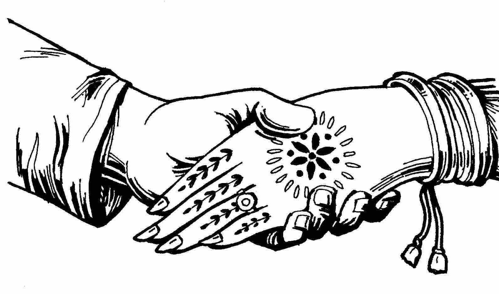 Free Indian Wedding Line Art, Download Free Clip Art, Free.