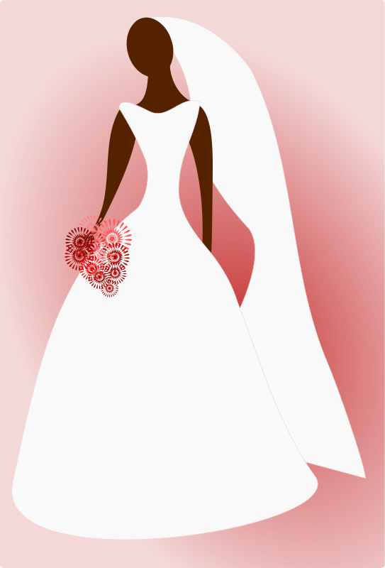 Bride and Groom Clipart.