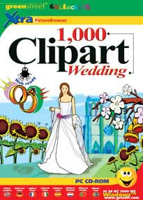 GreenStreet 1000 Clipart Wedding, clipart software.