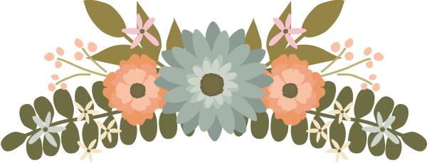 Download #FloralClipart, Flower Clipart, #WeddingClipart.