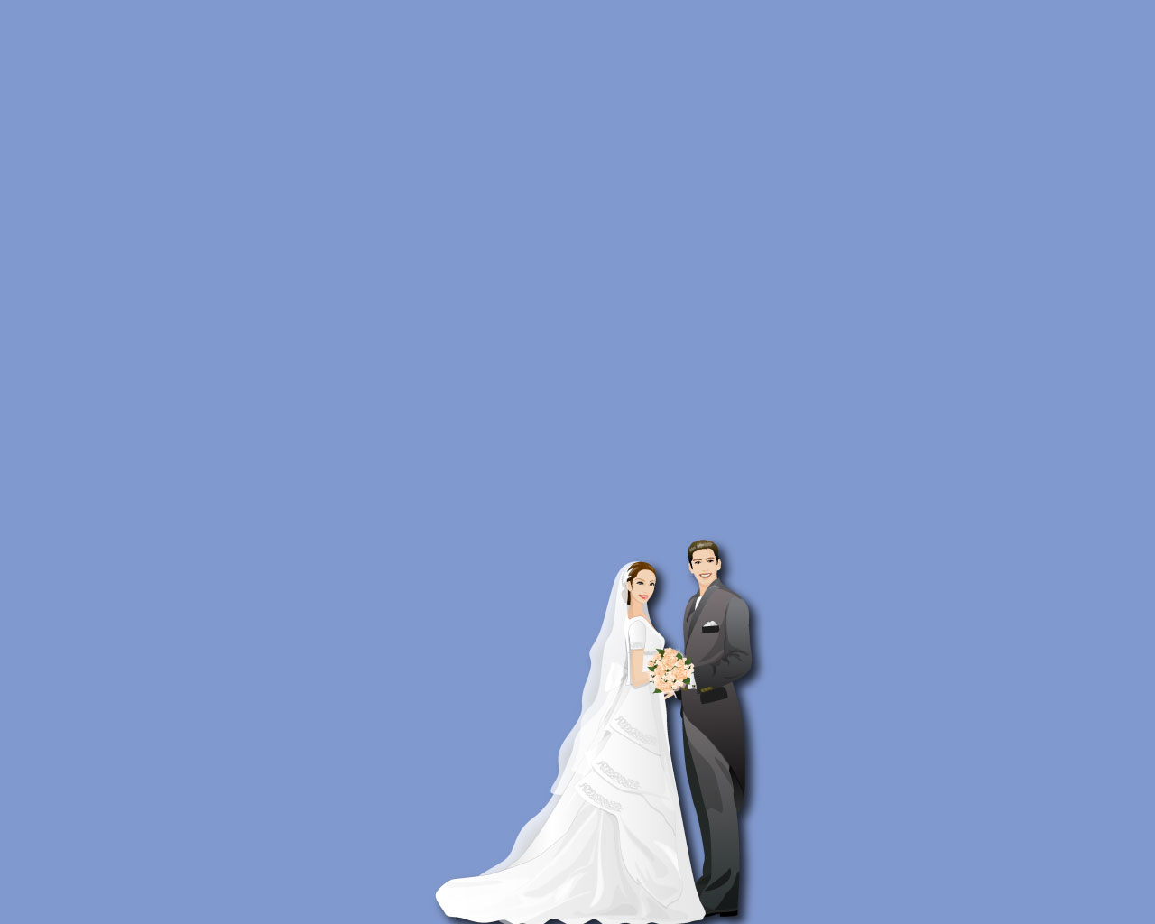 Clip Art Wedding Backgrounds For PowerPoint.