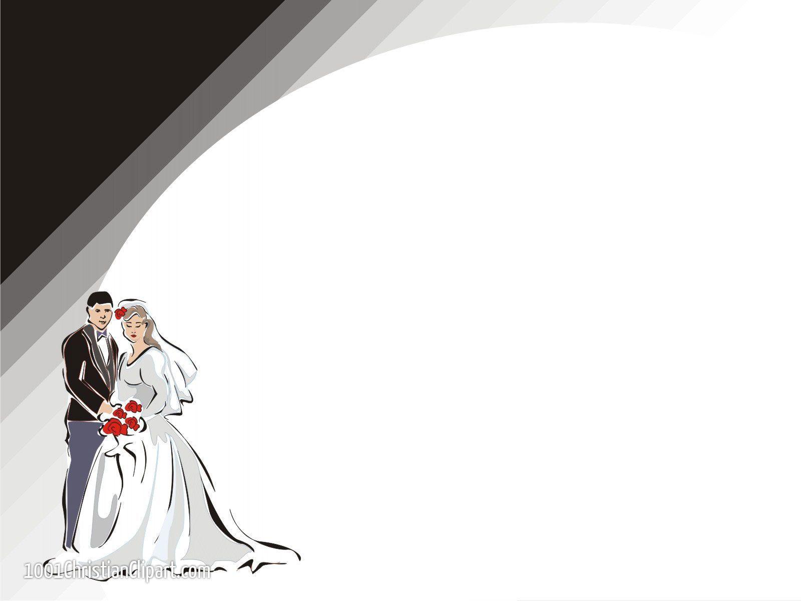 Wedding Clipart Background.