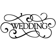 Clipart For Wedding.
