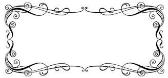 Image result for free wedding clipart borders.