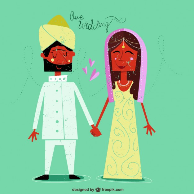 Indian wedding clipart vector free download 6 » Clipart Station.