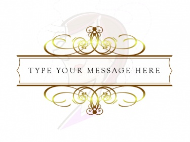 Vintage DIY Wedding Invitation Clip Art, GOLD Scrapbook Clipart.