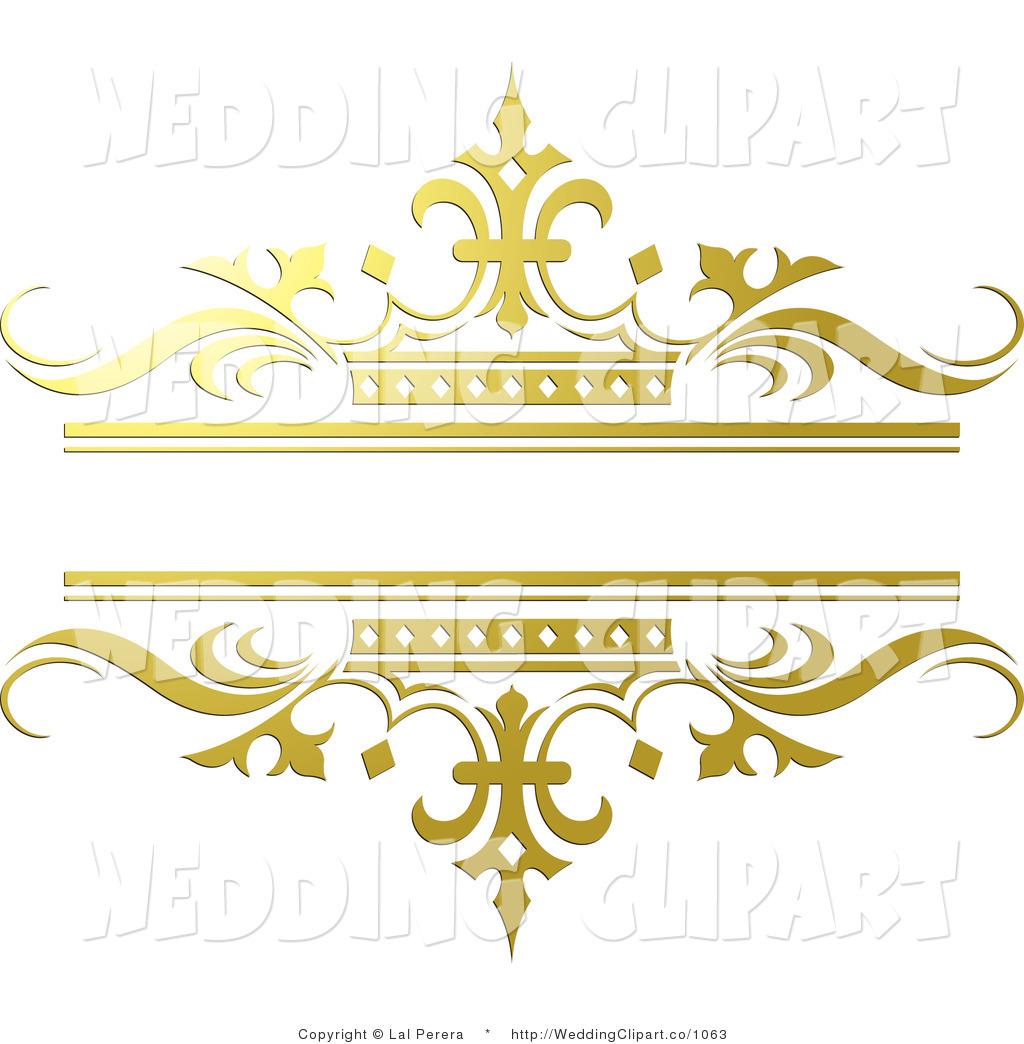 Royalty Free Golden Stock Wedding Designs.