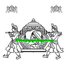 Indian Doli Clip Art.