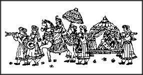 South Indian Wedding Invitation Symbols.
