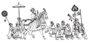 Indian Bride Clipart.