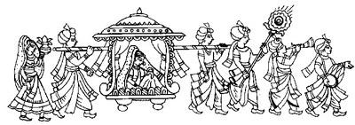 Hindu Wedding Invitation Cards Symbols.